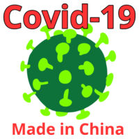 Covid19 Made in China Tee Design